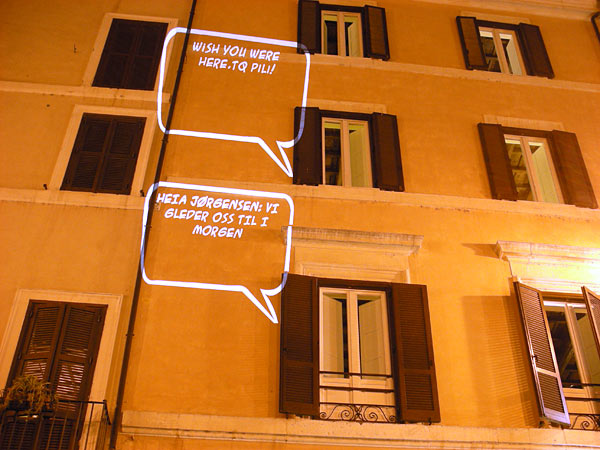 Rome Speech Bubbles