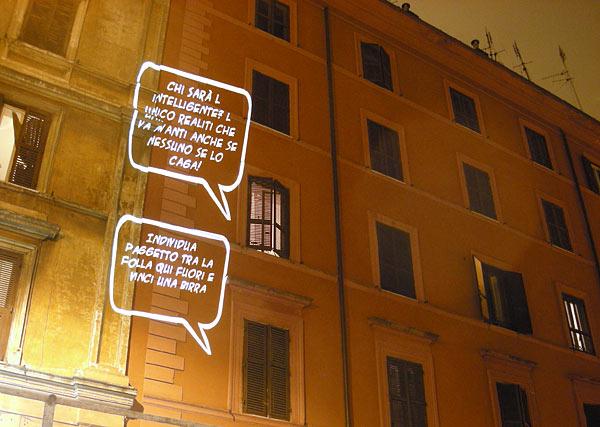 Rome Speech Bubbles