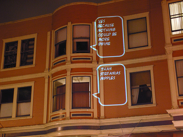 San Francisco Speech Bubbles
